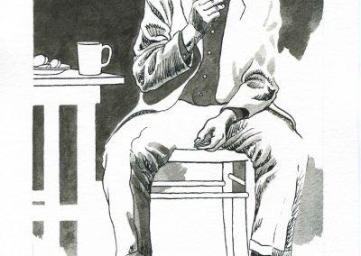 Porträt eines Schriftstellers