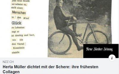Medien   Neue Zürcher Zeitung: Christina Rossi über Herta Müllers Text-Bild-Collagen aus dem Vorlass Richard Wagners (IKGS)