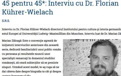Interview   IKGS-Direktor Dr. Florian Kührer-Wielach für die Online-Zeitschrift LaPunkt.ro