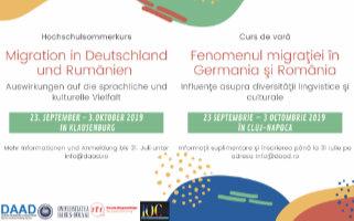 Hochschulsommerkurs   Migration in Deutschland und Rumänien, Auswirkungen auf die sprachliche und kulturelle Vielfalt