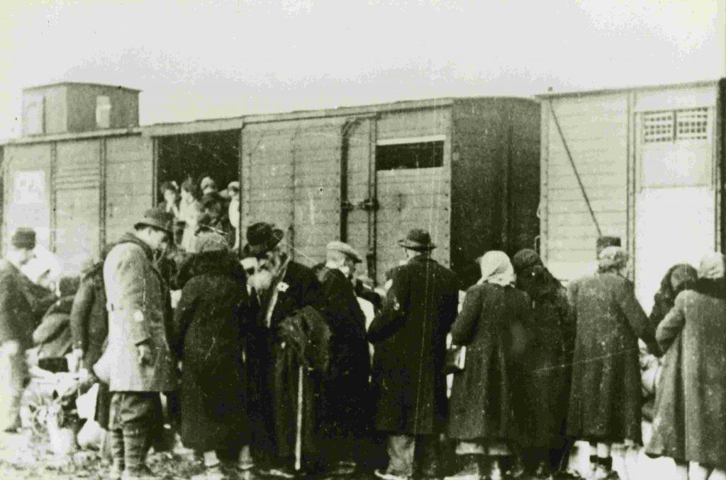Deportation Czernowitzer Juden nach Transnistrien 1941-42 ©Yad Vashem
