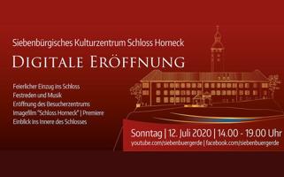 Digitale Eröffnung des Siebenbürgischen Kulturzentrums Schloss Horneck