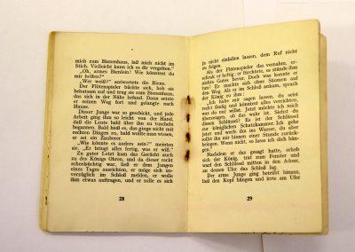Buch mit rostigen Klammern, © IKGS