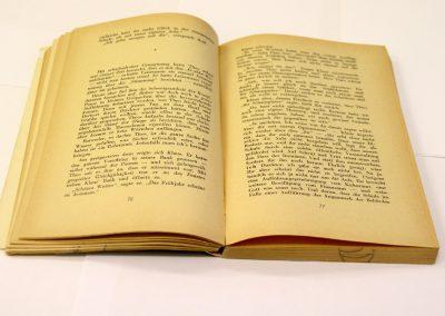 Buch mit vergilbtem Papier, © IKGS