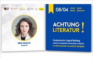 Gespräch und Lesung mit Iris Wolff